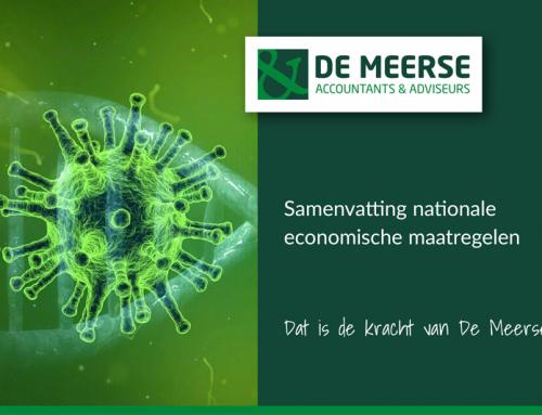 Samenvatting nationale economische maatregelen